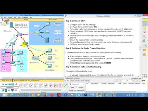 CCNA2 RSE Practice Skills Assessment   PT Type B