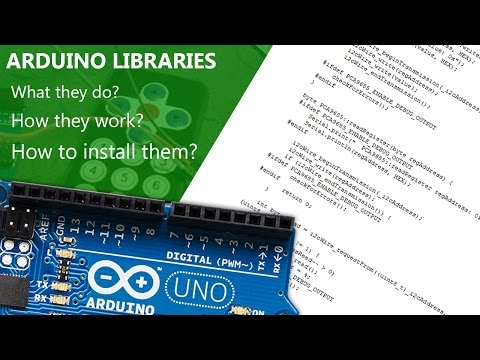 Arduino Libraries! How To Install Them Properly! Tutorial Showing You 3 Different Ways