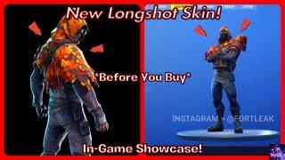 *NEW* Longshot Skin! (Before You Buy & In-Game Showcase!) | Fortnite Battle Royale