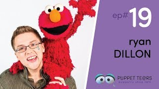 Puppet Tears, ep 019 — Ryan Dillon of Elmo, Sesame Street, + Television Puppetry
