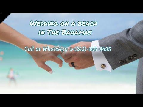Wedding on a beach in The Bahamas - Thinking about a wedding on a beach in The Bahamas?