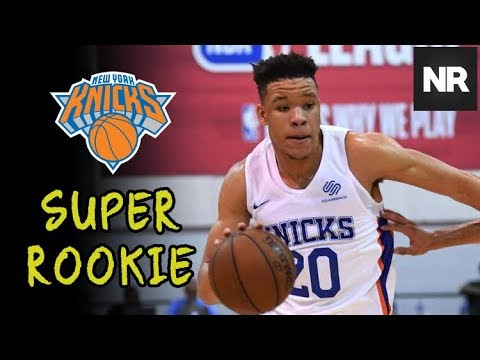New York Knicks SUPER ROOKIE - Kevin Knox Showing His Range