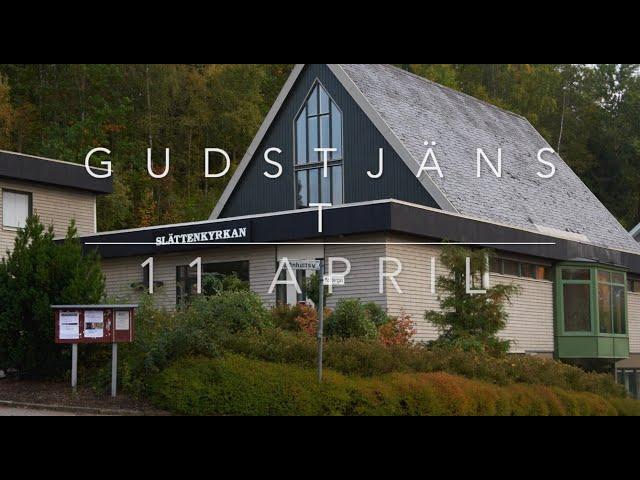 Gudstjänst 11 April