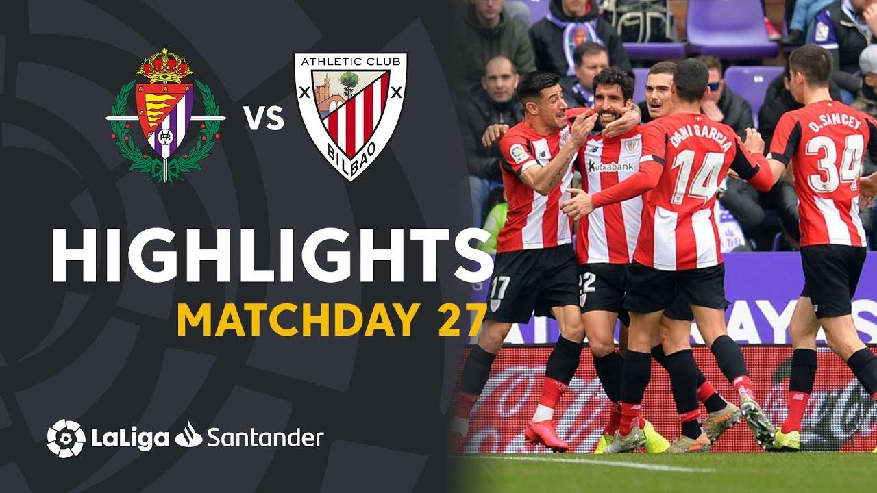 Real Valladolid vs Athletic Bilbao (8 Mar 2020) 🔥 Video ...