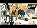 DECLUTTERING MY WHOLE MAKEUP COLLECTION.. HELP ME | sophdoesnails
