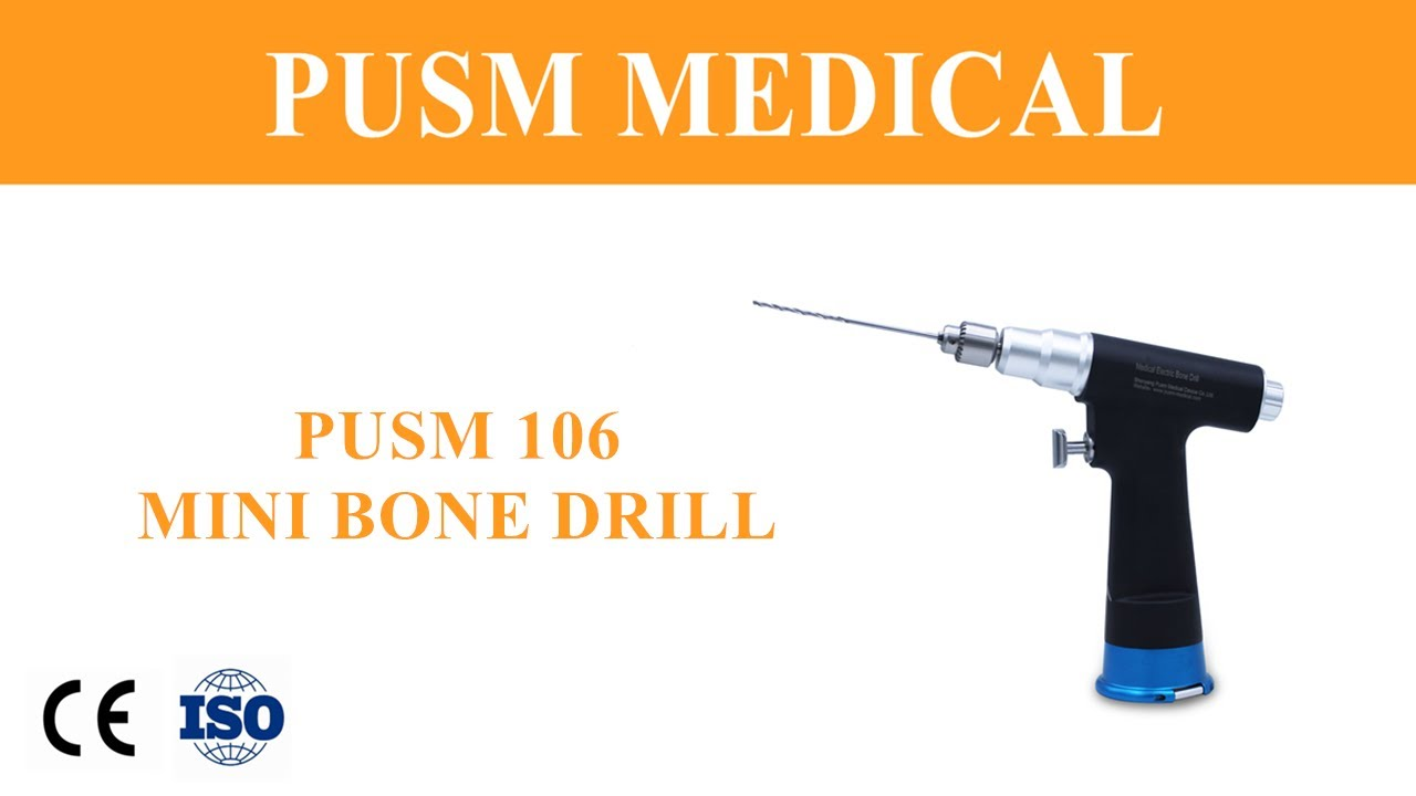 Medical Electric Orthopedic Surgical Mini Bone Drill (PUSM106) #Orthopedicsurgery