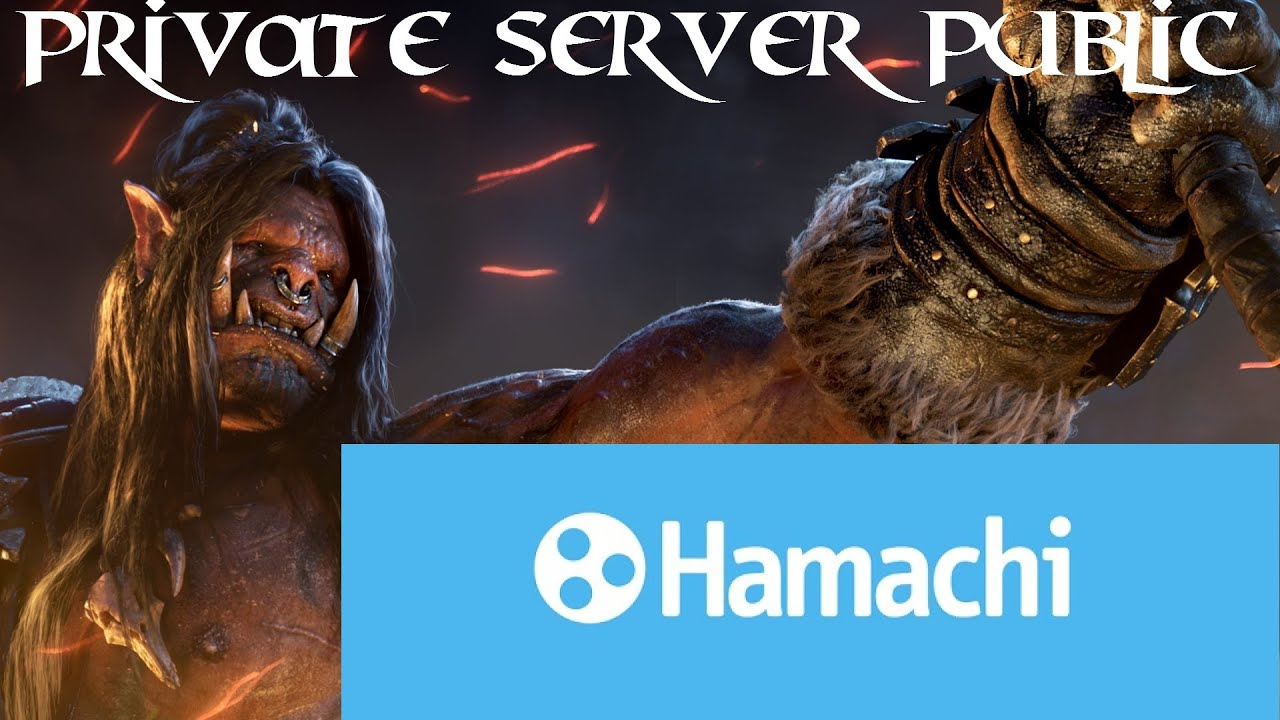 How to make WoW Warlords of Draenor Server Public with