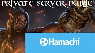 How to make WoW Warlords of Draenor Server Public with Hamachi