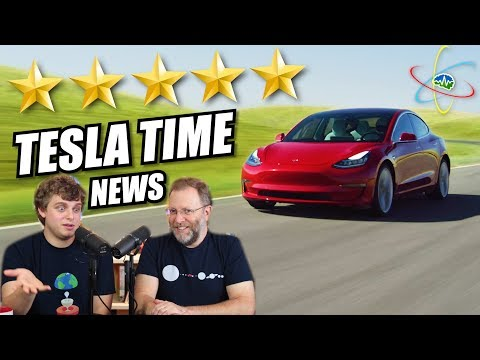 Tesla Time News - Model 3 Earned 5 Star Safety Rating