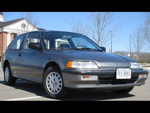 91 Honda Civic DX Hatchback