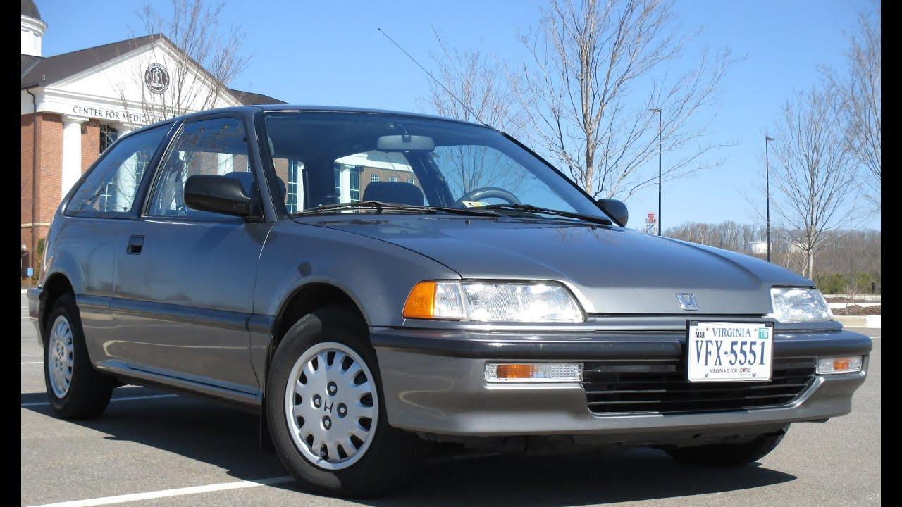 91 Honda Civic DX Hatchback