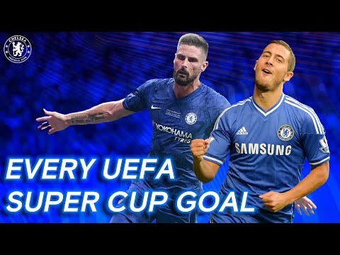 Every Chelsea Goal From The UEFA Super Cup ft. Hazard, Torres & More