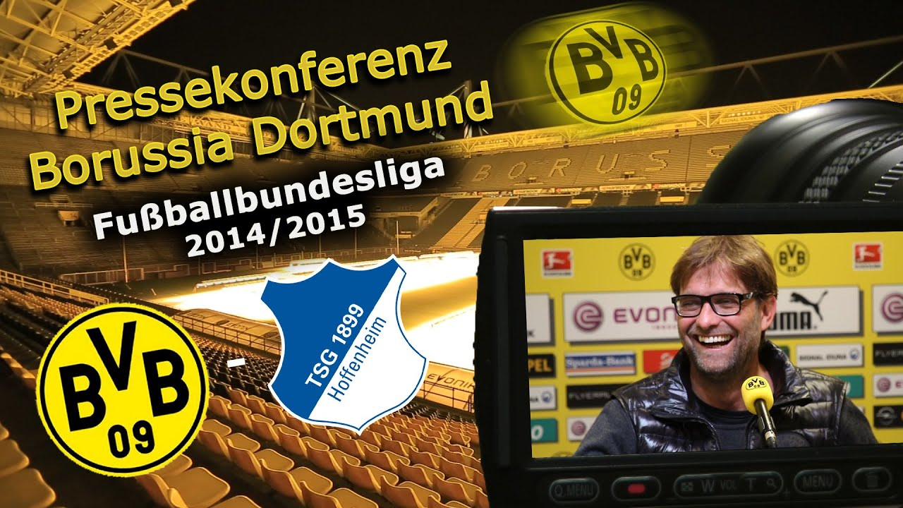 Borussia Dortmund - TSG 1899 Hoffenheim : Bundesliga-Pk Jürgen Klopp