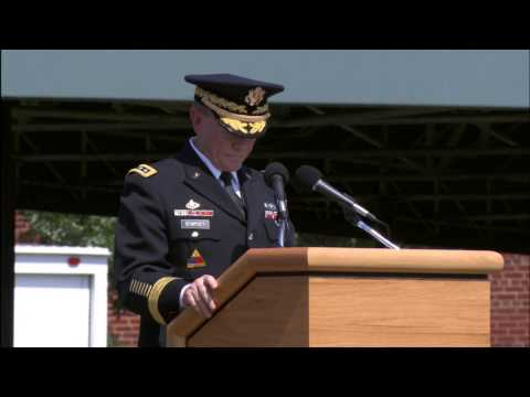 Gen. Raymond Odierno retires, Gen. Mark Milley sworn-in as 39th Chief of Staff of the Army