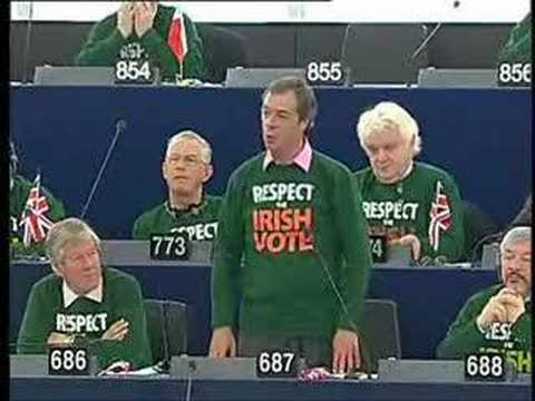 Respect the Irish Vote: Aftershock in European Parliament