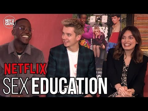 Sex Education | Asa Butterfield, Emma Mackey & Ncuti Gatwa on Netflix's Must-See Series
