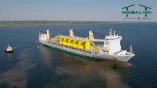 SAL Shipping: MV Trina, transition pieces for Veja Mate Windfarm
