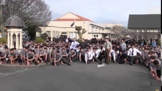 PNBHS Haka for Mr. Dawson Tamatea