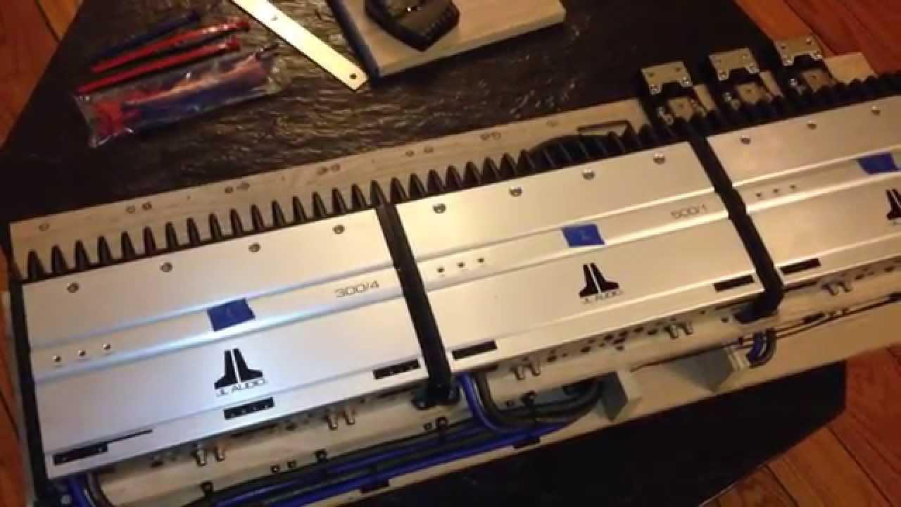 car amp rack wiring [ 1280 x 720 Pixel ]
