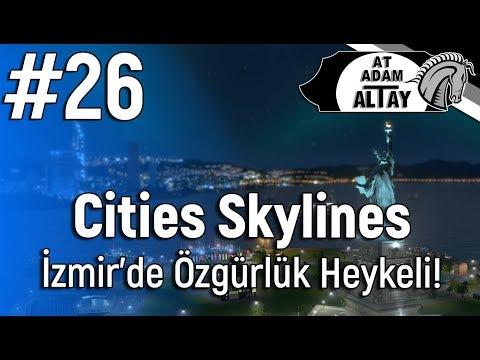 Cities Skylines 2. SEZON - İzmir'de Özgürlük Heykeli! #26