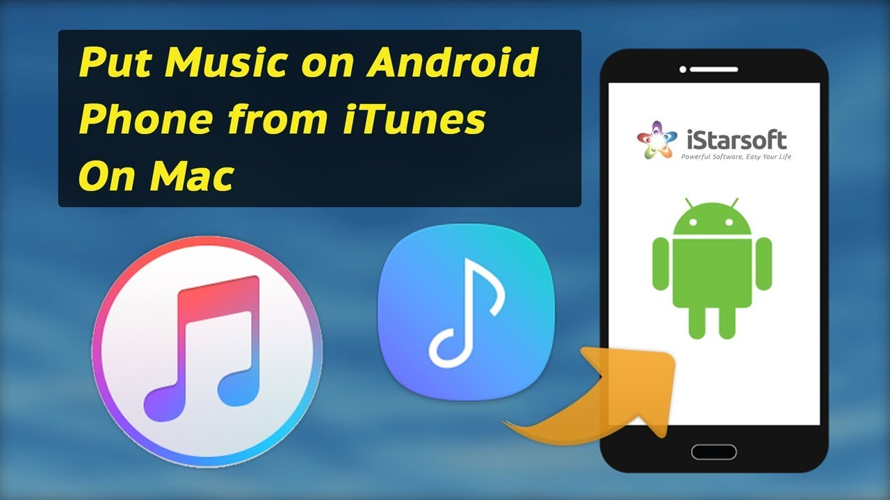 How to put itunes on android