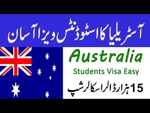 Australia student visa for pakistan