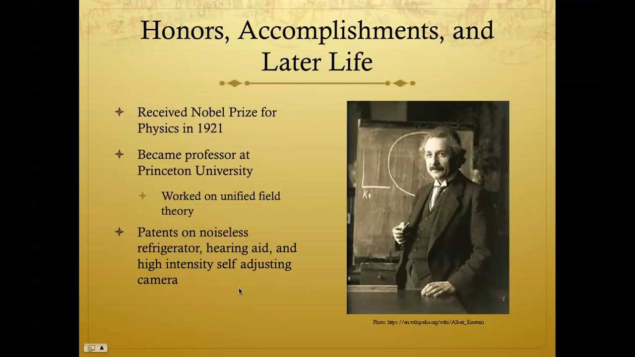 the early of albert einstein and his accomplishments Albert einstein: the game changer of the early life of albert einstein, and his in light of his accomplishments detailed in the.