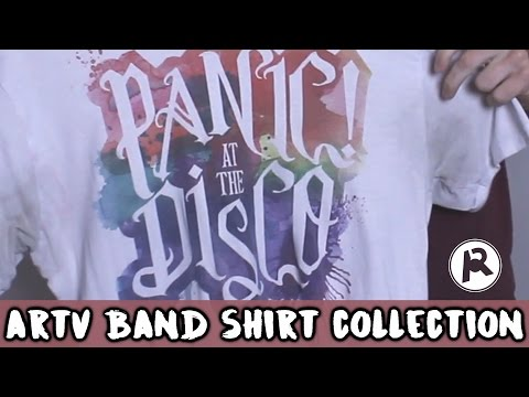 Ultimate Band Shirt Collection!