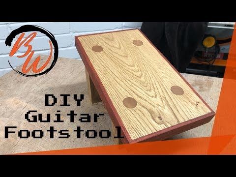 DIY Guitar Footstool