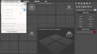 1  Интерфейс программы 3D MAX 2010