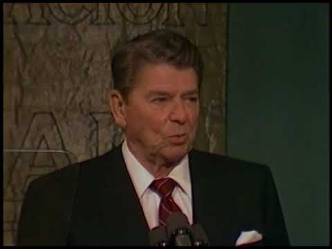 President Reagan's Remarks to Spanish Community Leaders in Madrid, Spain on May 7, 1985