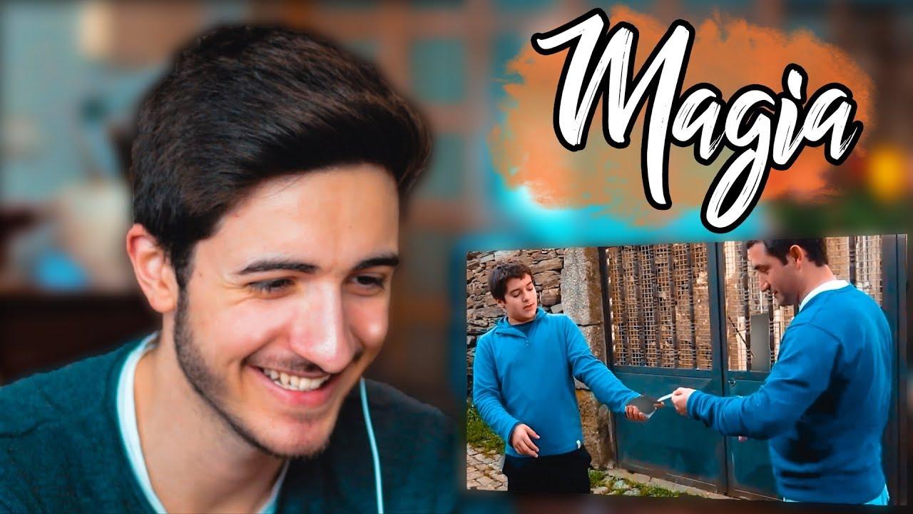 Mágico Reage aos Truques de Magia dos Subscritores | Gabriel Ferreira