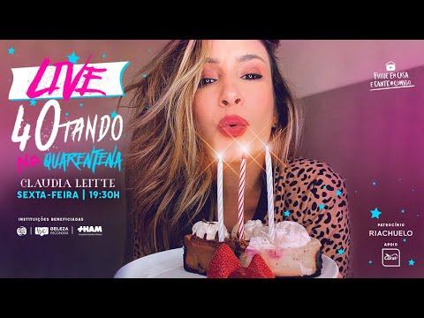 Claudia Leitte Live - 40tando na quarentena | #FiqueEmCasa e cante #Comigo