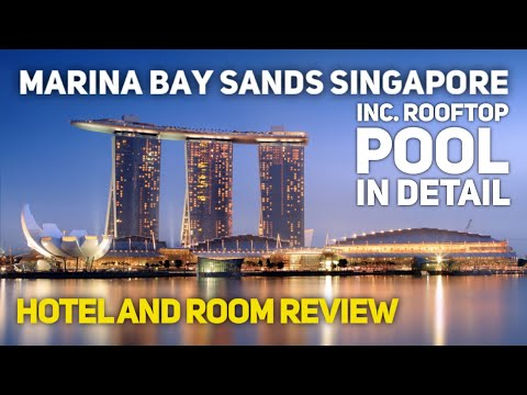 Marina Bay Sands Singapore Hotel Tour & Review 2020 (incl rooftop infinity pool and deluxe room)