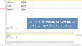 Access Quick Tips: Validation Rules