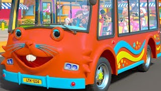 Wheels on the Bus I Spy - Cartoon Nursery Rhymes by Little Treehouse