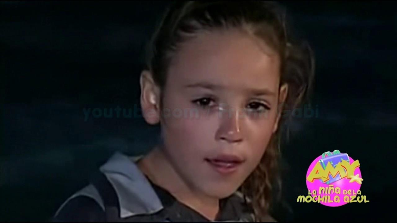 Amy A Mochila Azul valiente | amy la niña de la mochila azul.