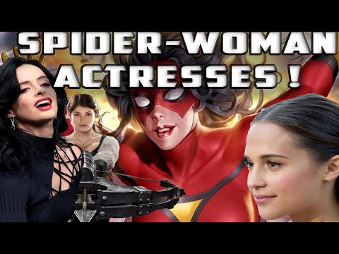 TOP TEN Actresses To Play SPIDERWOMAN Aka JESSICA DREW For SONY And Marvel's MCU!