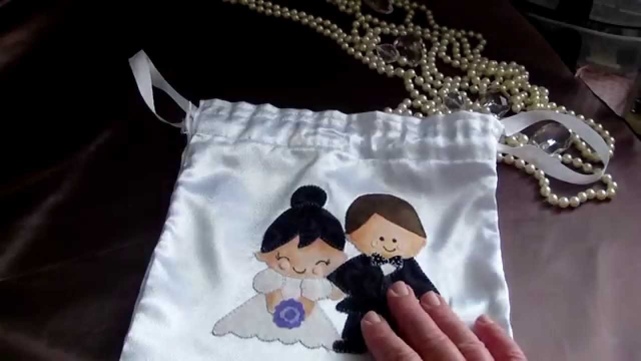 Bridal Gift Bag, Wedding Bag, Bridal Money Bag, - YouTube
