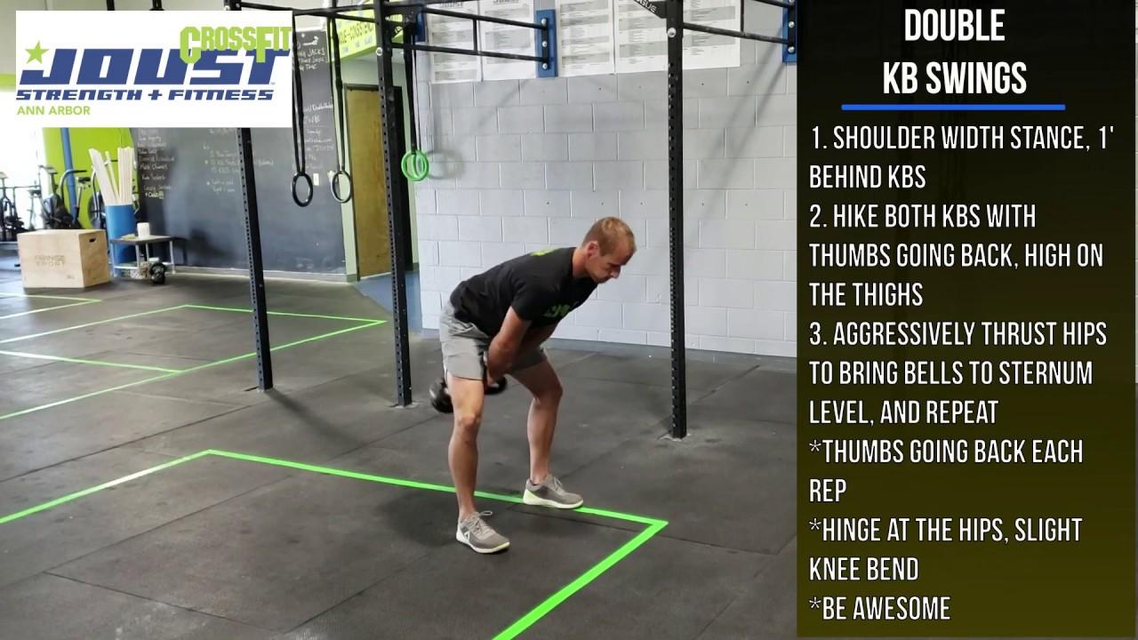 Kettlebell Swing - CrossFit Exercise Guide - YouTube