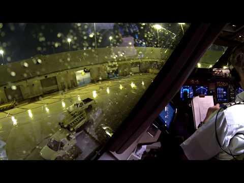 Boeing 747 400 Decolagem Aeroporto MIAMI