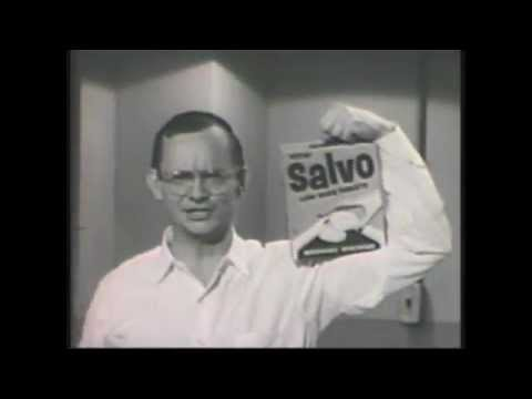 Salvo Detergent With Wally Cox Youtube