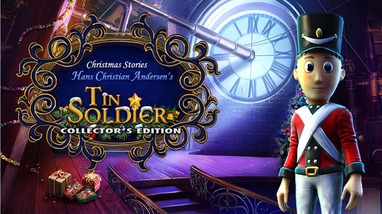 Christmas Stories Hans Christian Andersen S Tin Soldier