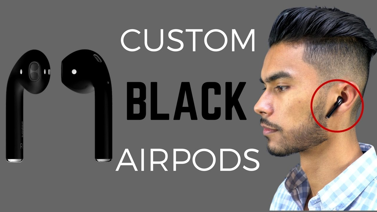 Black Apple AirPods