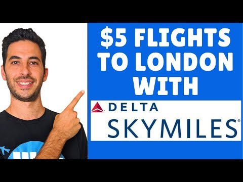 How to Use Delta Skymiles for Cheap Flights to Europe