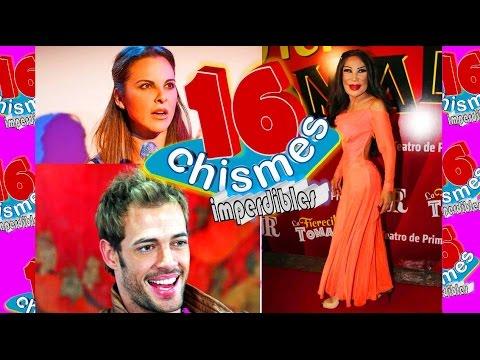 Esc ndalos impactantes de telenovelas reportaje espec for Chismes y espectaculos recientes