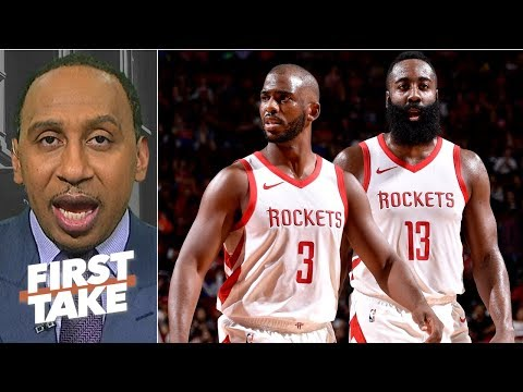 Blame Chris Paul, Mike D'Antoni for James Harden's unhappiness - Stephen A. | First Take