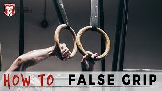 How to FALSE GRIP for MUSCLE UP | School of Calisthenics