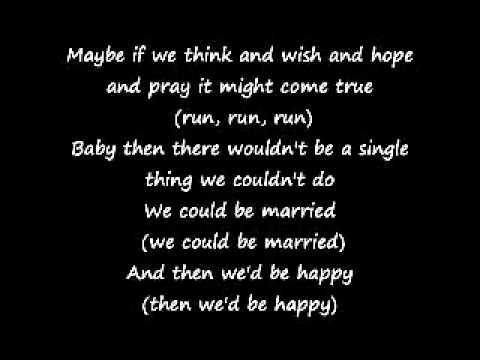 Beach Boys Wouldn't It Be Nice lyrics