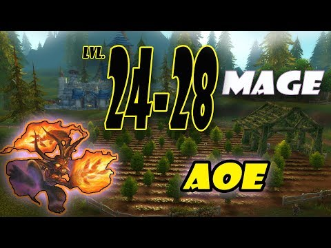 Classic WoW Mage AoE Leveling Guide: 24-28 (HORDE)
